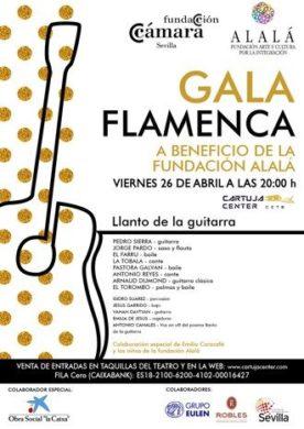 Gala Flamenca a beneficio de la Fundación ALALÁ 1