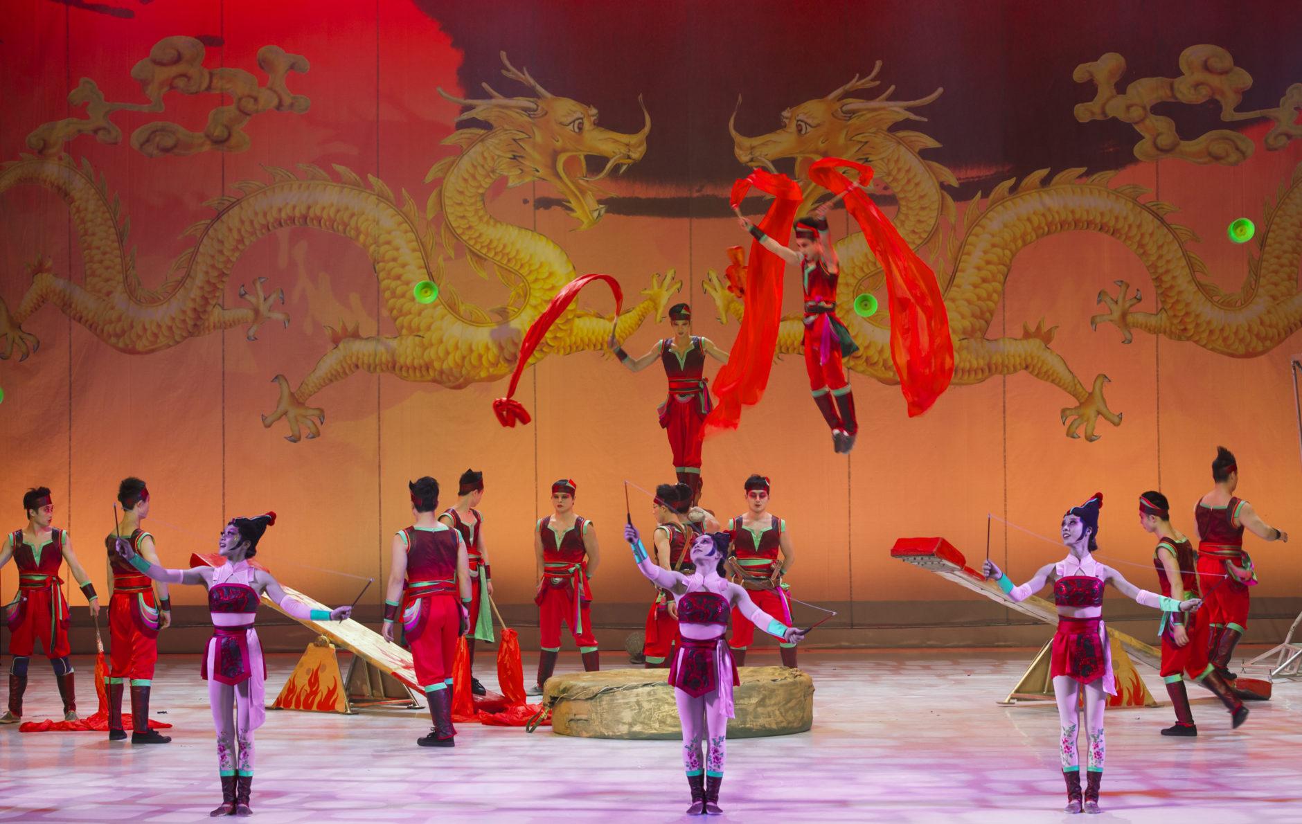 Gran Circo Acrobático de China 8