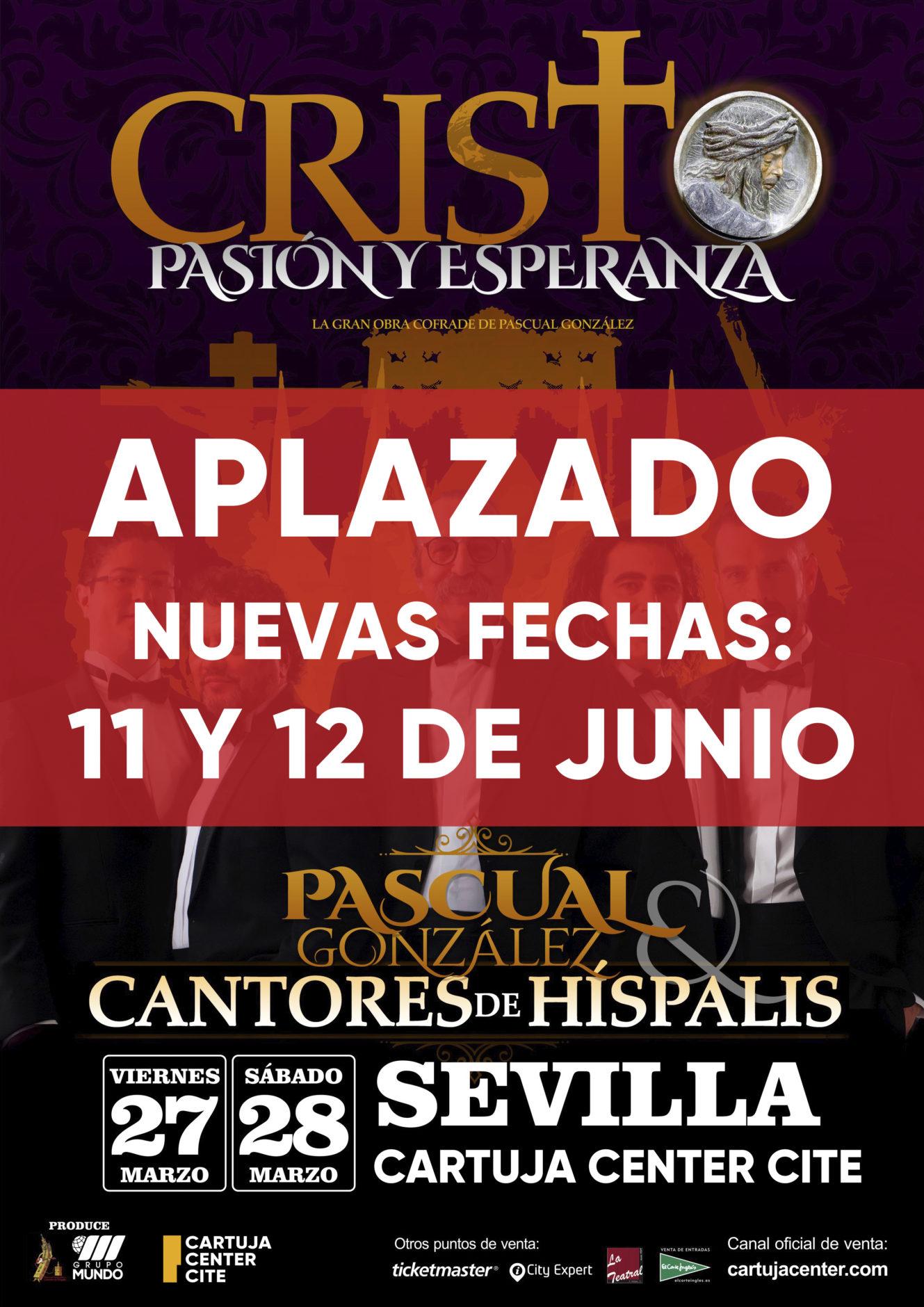 Comunicado aplazamiento concierto Cantores de Híspalis 1