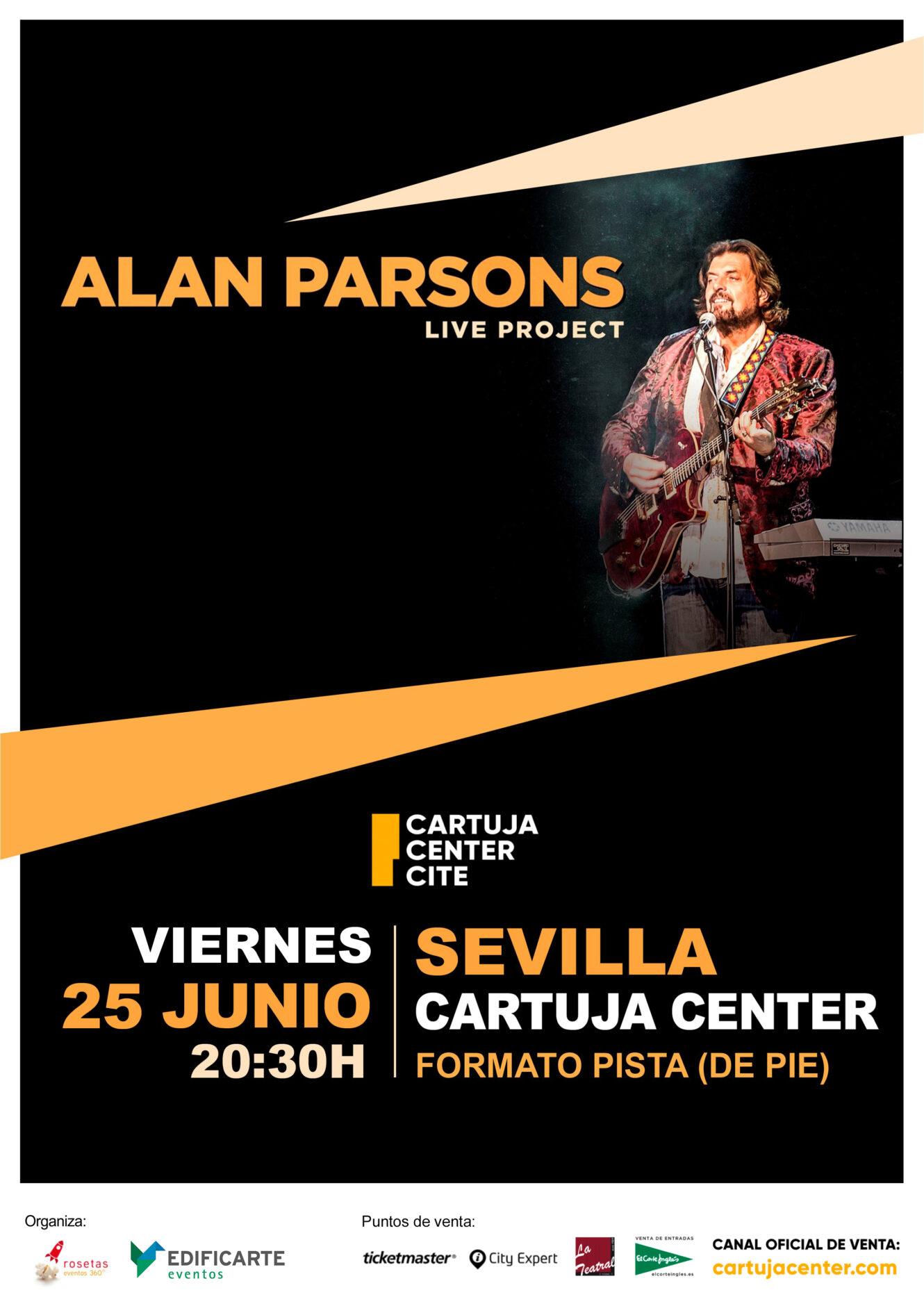 Comunicado Oficial aplazamiento concierto Alan Parsons 1