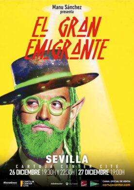 Manu Sánchez – El Gran Emigrante