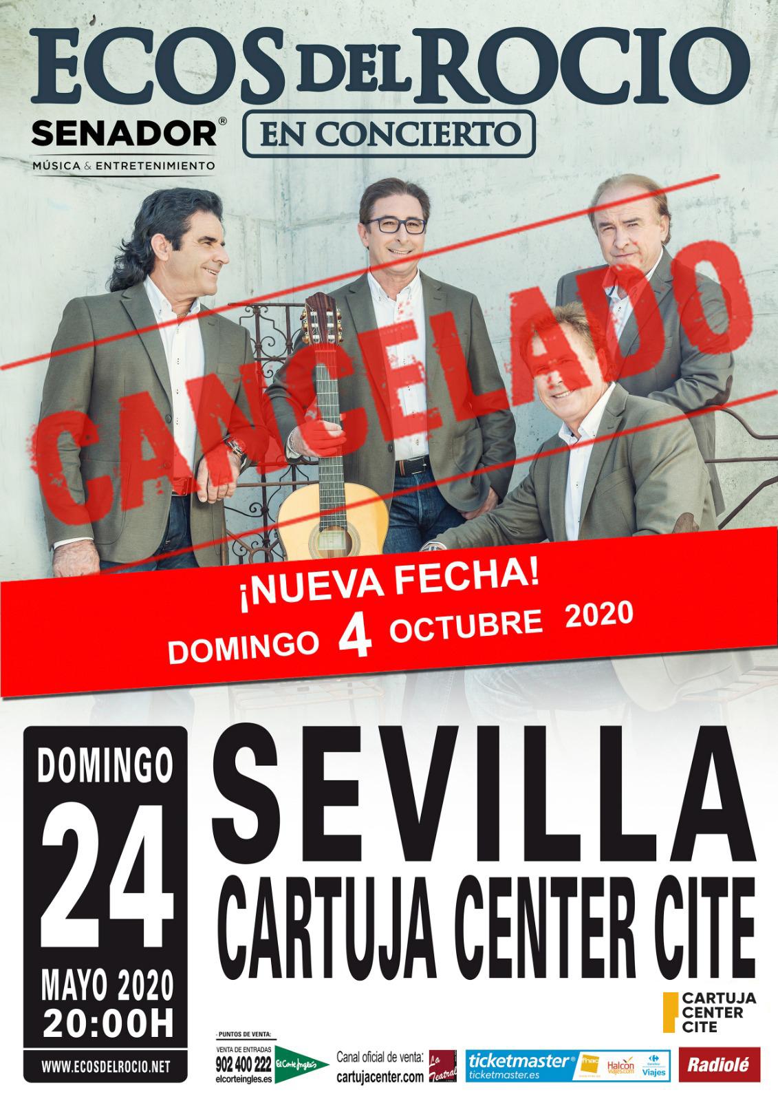 Cancelación concierto Ecos del Rocío 1