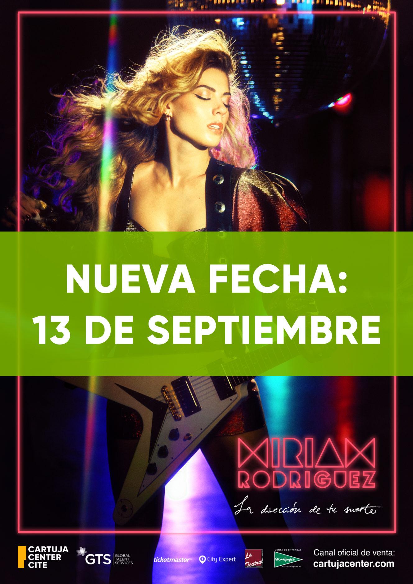 Comunicado aplazamiento concierto Miriam Rodríguez 1