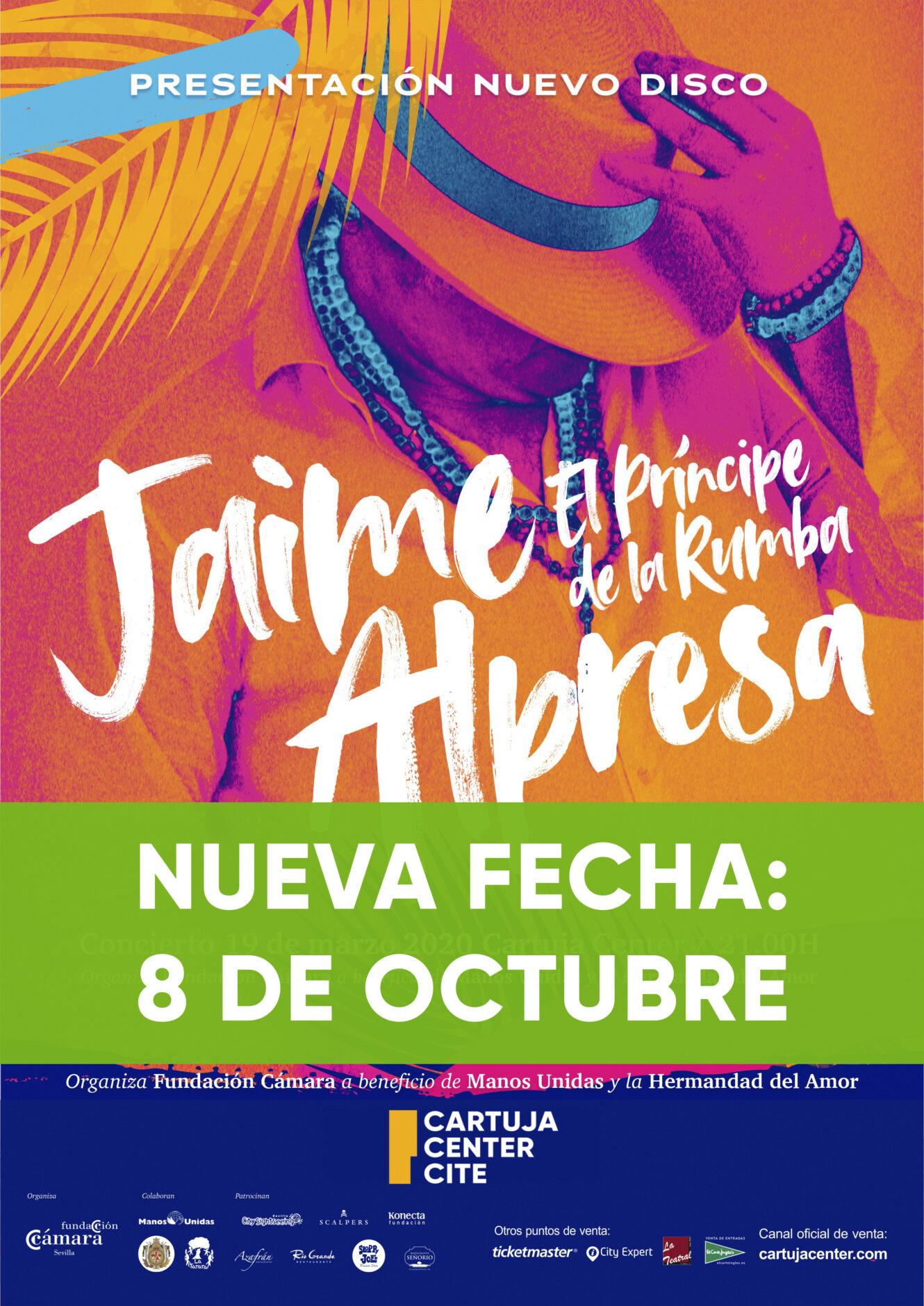 Nuevo aplazamiento del concierto benéfico de Jaime Alpresa 1