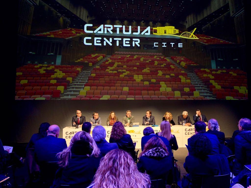 Rueda de prensa presentación Cartuja Center 1