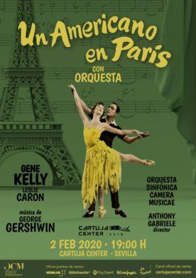 Un americano en París – Con la Orquesta Camera Musicae