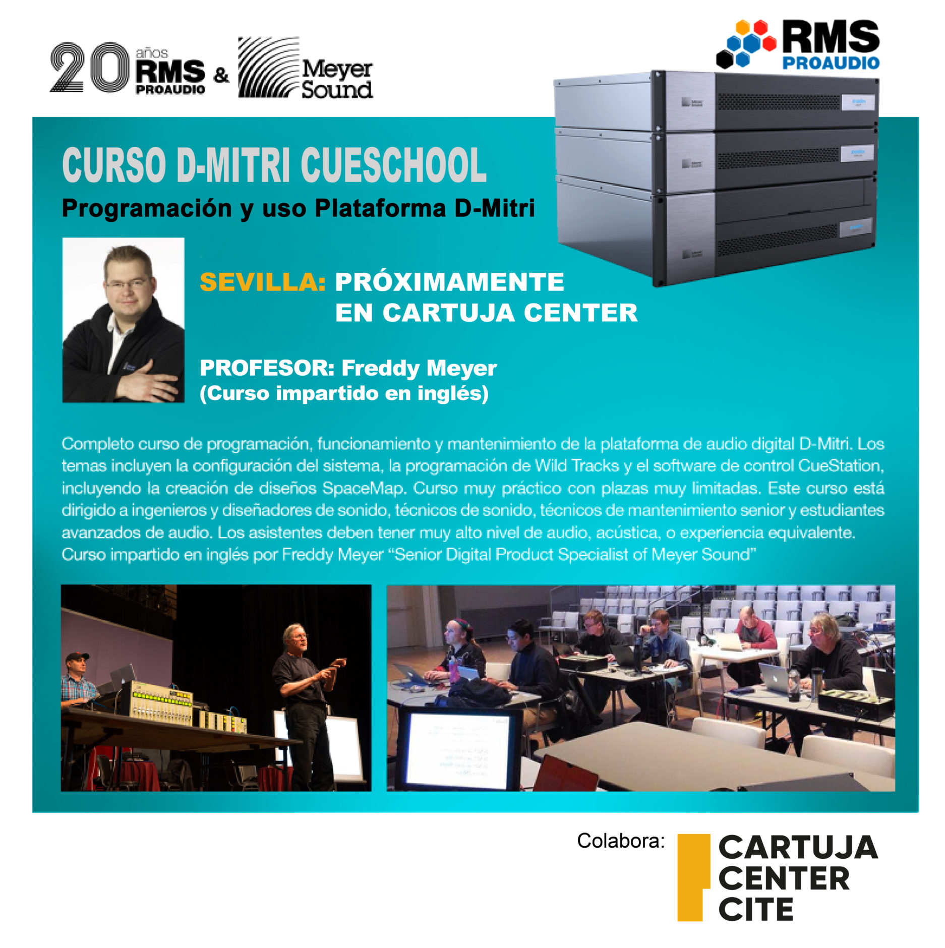 Curso Cartuja Center Academy
