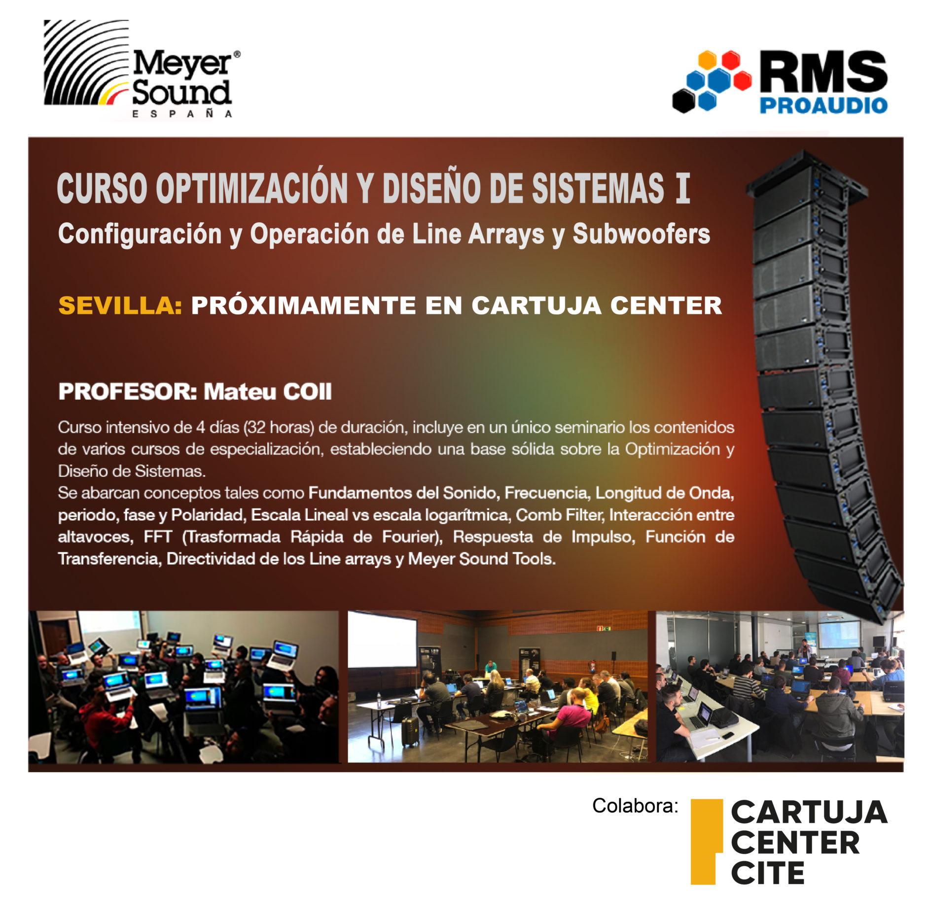 Cartuja Center Academy organiza cursos avanzados de sonido 1