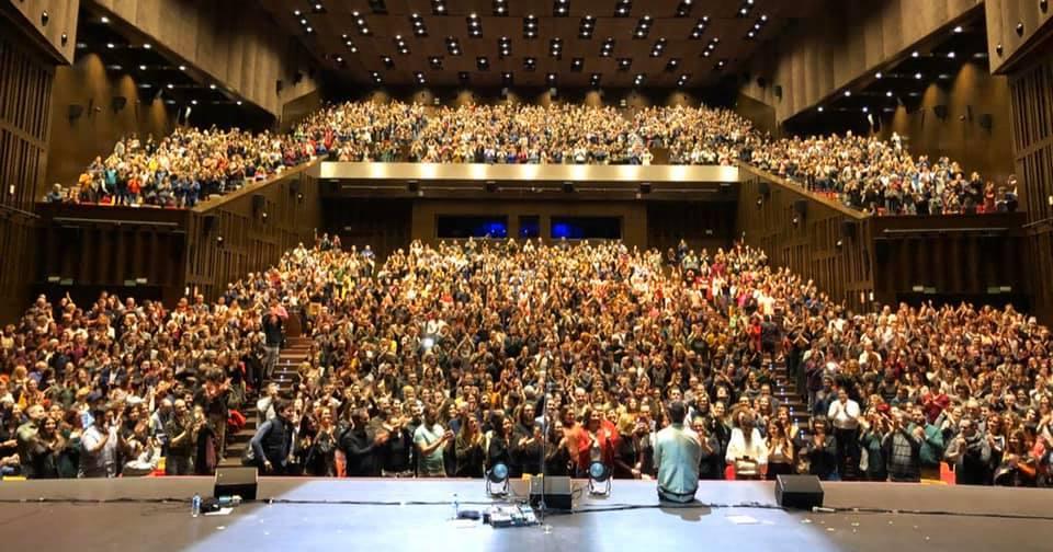 Crónica del concierto de Jorge Drexler en Cartuja Center 1