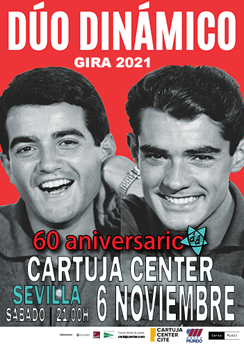Cartel Cartuja Center gira Dúo Dinámico