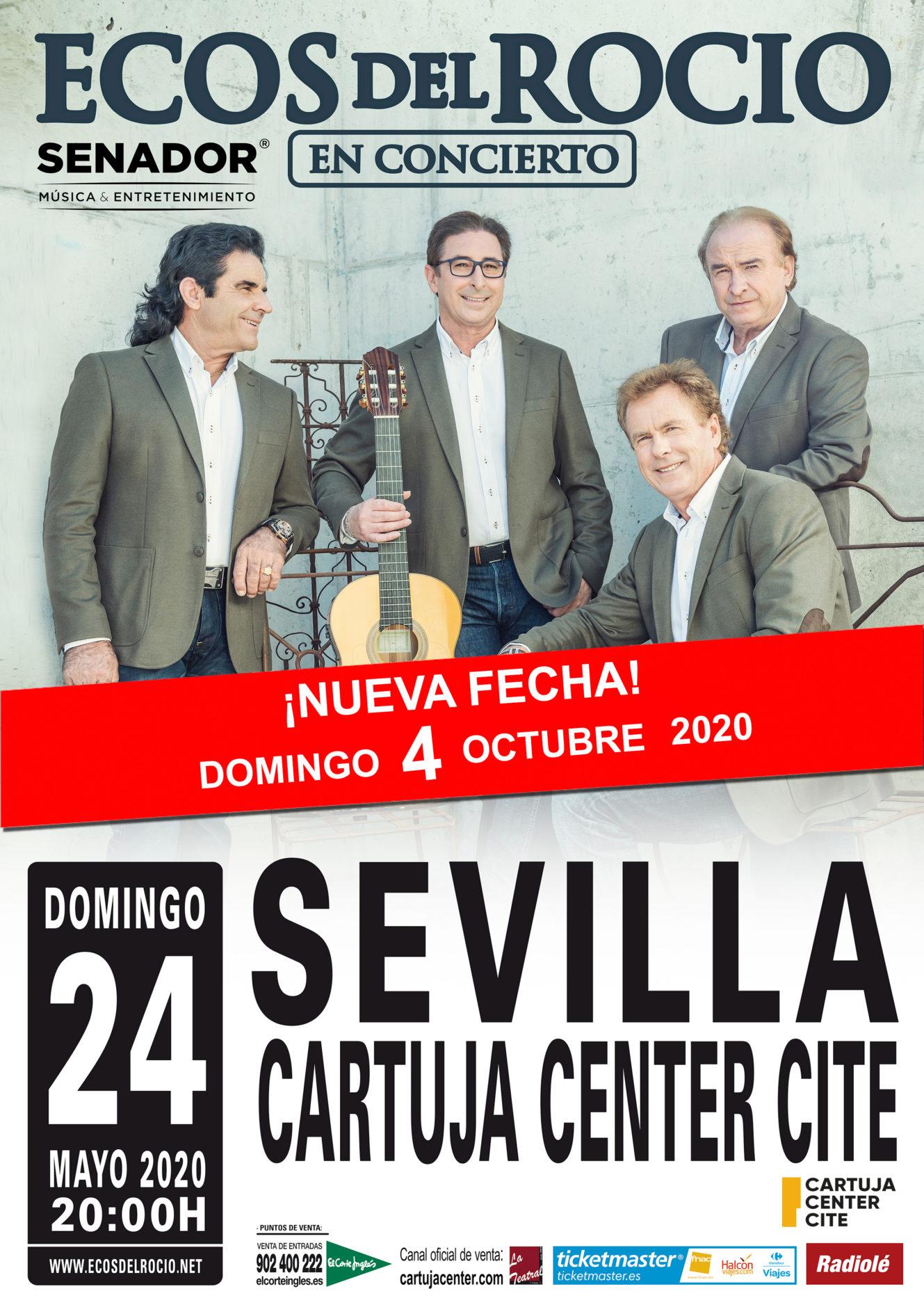 Comunicado aplazamiento concierto Ecos del Rocío 1