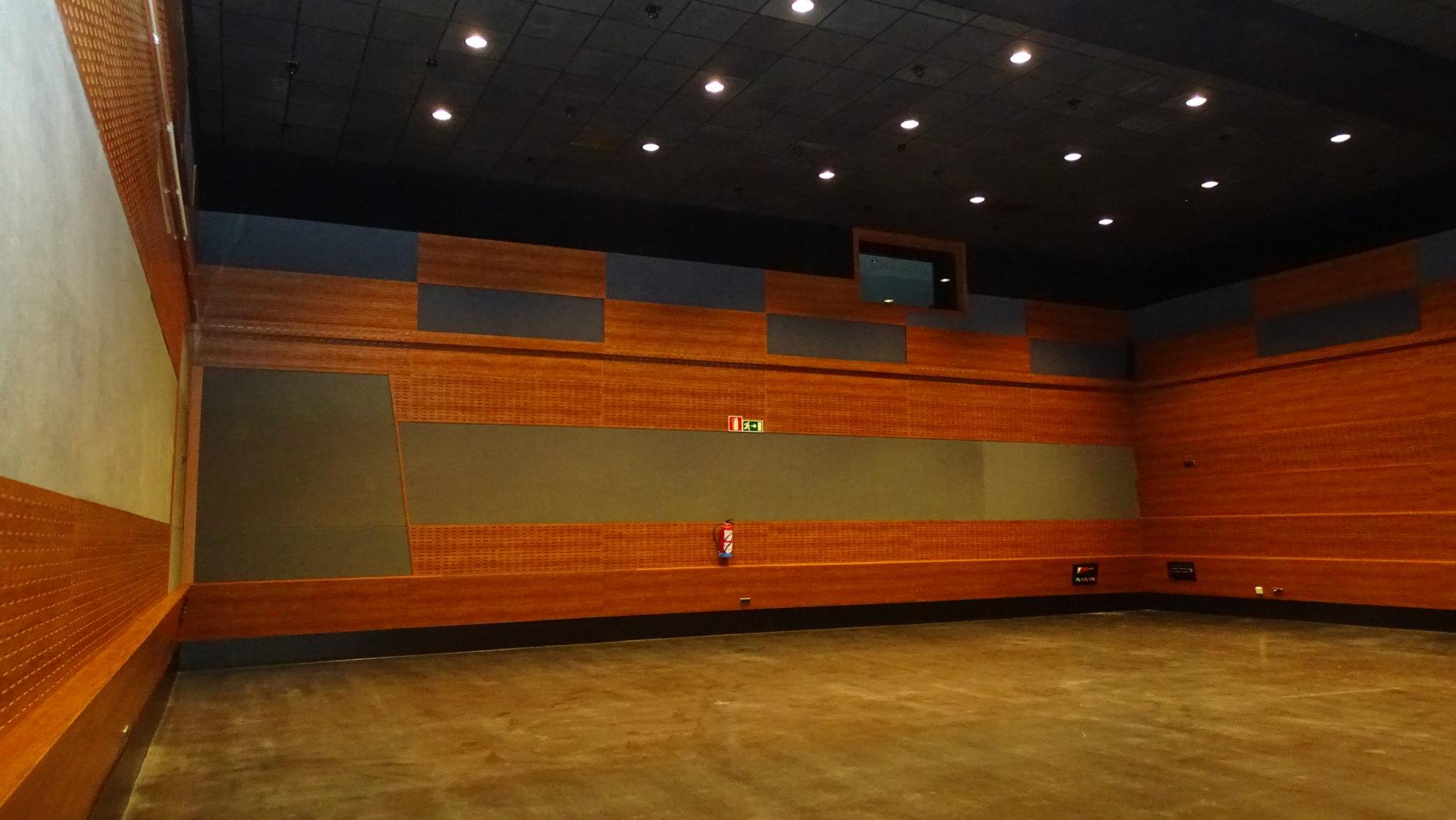 Sala de ensayo en Cartuja Center