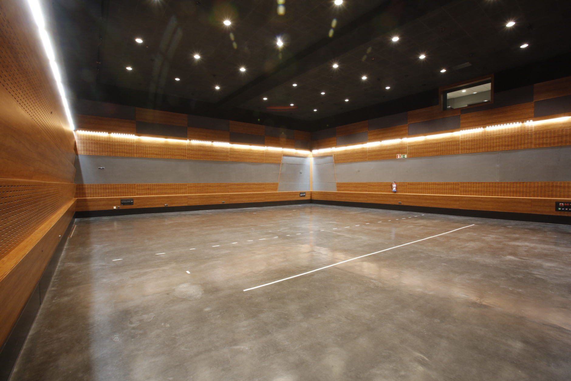Sala de ensayo en Cartuja Center