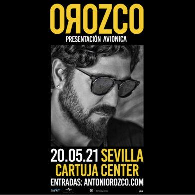 Concierto Antonio Orozco en Cartuja Center Sevilla