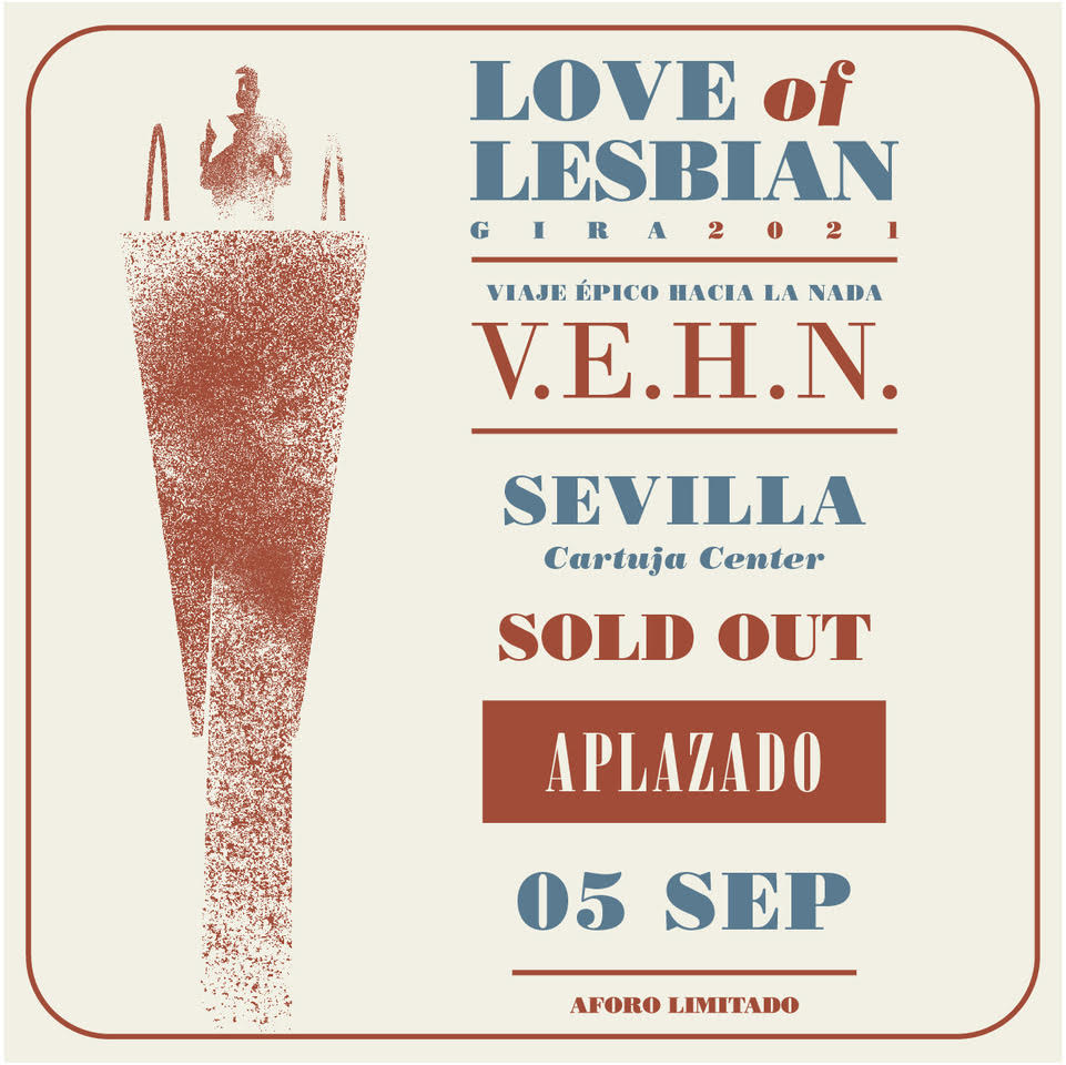 LOVE OF LESBIAN APLAZA A SEPTIEMBRE SU CONCIERTO 1