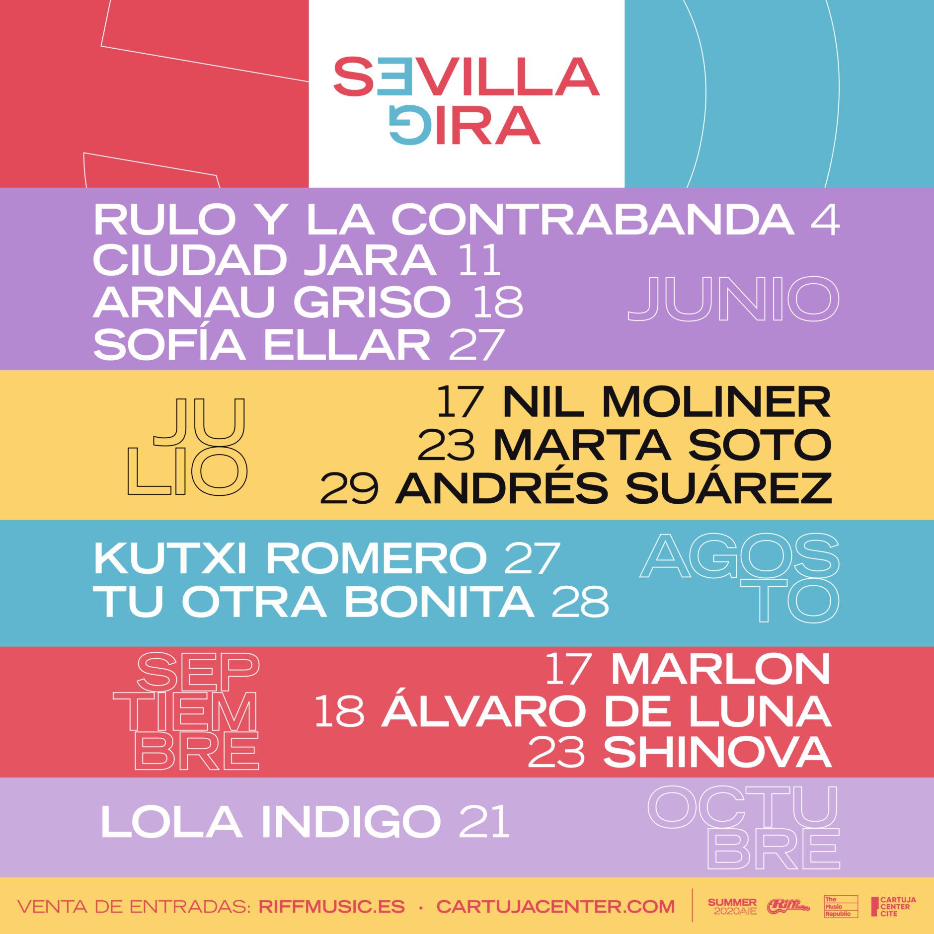 SOFÍA ELLAR Y LOLA ÍNDIGO SE UNEN AL CICLO GIRA SEVILLA 3