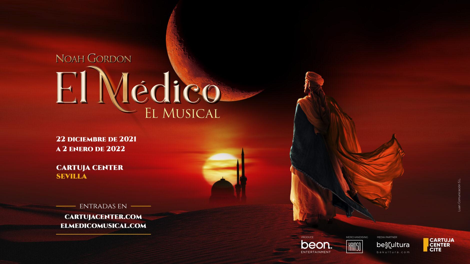 'El Médico' el musical elige Cartuja Center CITE para iniciar su gira nacional 1
