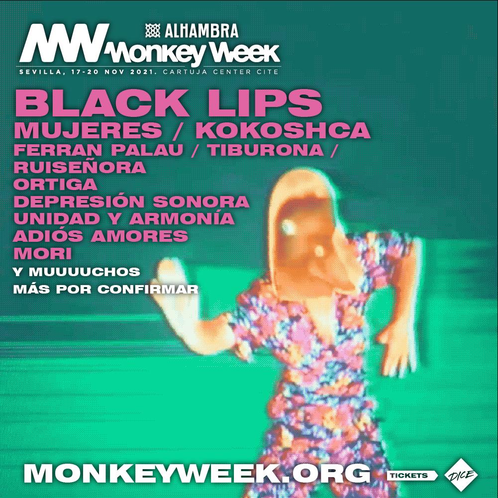 Alhambra Monkey Week calienta motores  con las 10 primeras confirmaciones de artistas nacionales 2