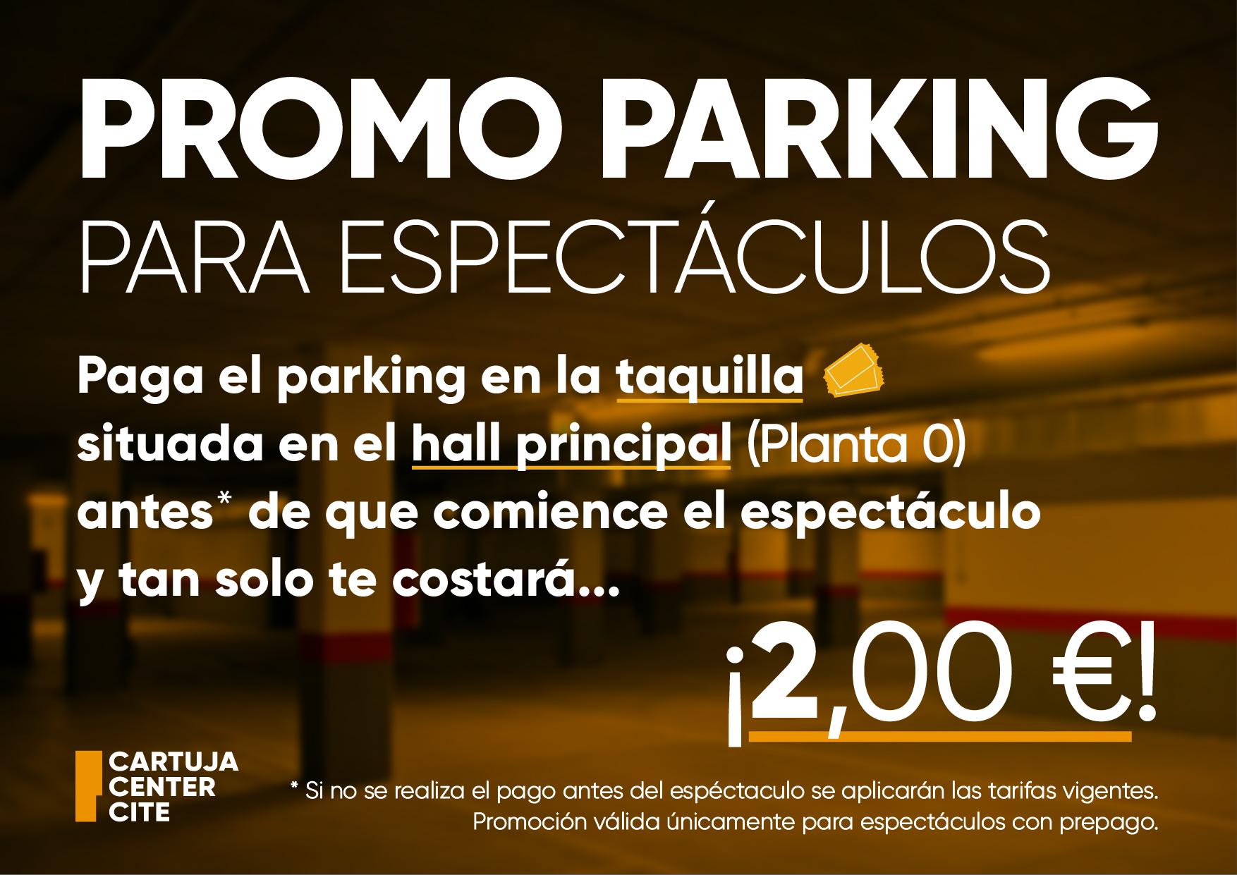 promoción parking cartuja center
